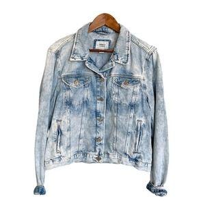 FOREVER 21 Women's Denim Jacket Size Large